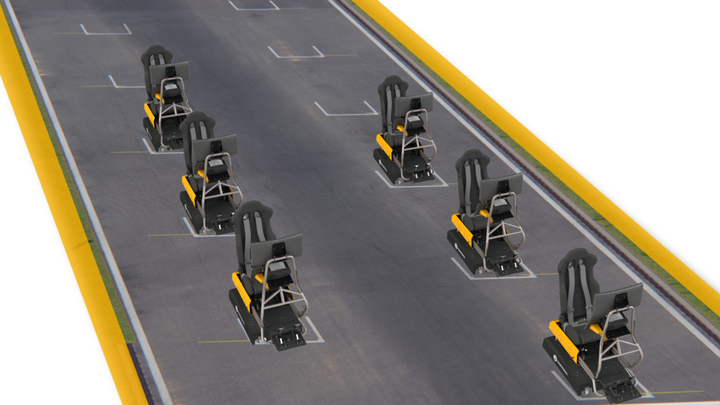 Grille départ Simersion Competition System