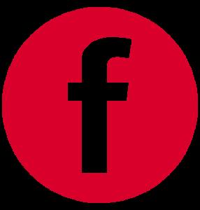 Logo Facebook Simersion Rouge