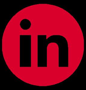Logo LinkedIn Simersion Rouge
